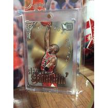 Michael Jordan Tarjeta Metal 96-97