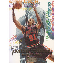 1996-97 Skybox Premium Double Trouble Dennis Rodman Bulls
