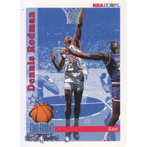 1992-93 Hoops All Star Dennis Rodman Bulls