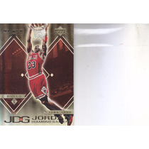 1999-00 Black Diamond Gallery Michael Jordan Bulls #7
