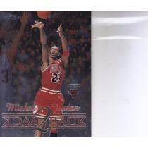 1998-99 Topps Chrome Back 2 Back Michael Jordan Bulls
