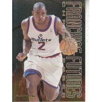 1995-96 Fleer Franchise Futures Chris Webber Washington