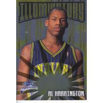 1998-99 Fleer Brilliants Illuminators Al Harrington Pacers