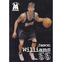 1998-99 Skybox Molten Metal Rookie Jason Williams Kings