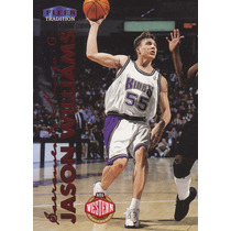 1999-00 Fleer Tradition Jason Williams Kings