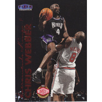 1999-00 Fleer Tradition Chris Webber Kings