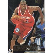 1995-96 Fleer Metal Scrapbook Jerry Stackhouse Sixers