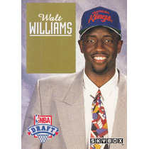 1992-93 Skybox Draf Picks Walt Williams Kings