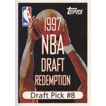 1997-98 Topps Draft Redemption Draft Pick 8