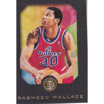 1995-96 Skybox E-xl Rookie Rasheed Wallace Bullets