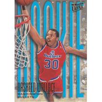 1995-96 Fleer Ultra Rookie Rasheed Wallace Bullets