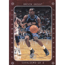 1997-98 Sp Authentic Fw Rookie Brevin Knight Cavaliers