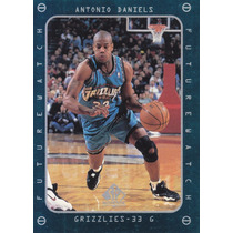 1997-98 Sp Authentic Fw Rookie Antonio Daniels Grizzlies