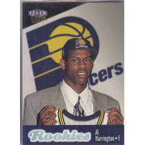 1998-99 Fleer Ultra Rookies Al Harrington Pacers