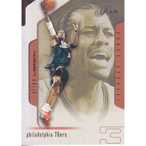 2001-02 Flair Allen Iverson Sixers