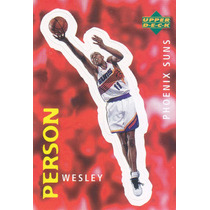1997 Ud Choice Italian Sticker Wesley Person Suns #85