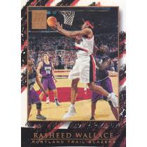 2000-01 Topps Reserve Rasheed Wallace Blazers