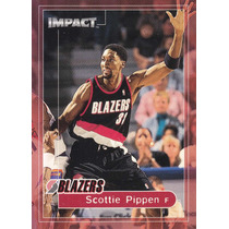 1999-00 Skybox Impact Scottie Pippen Blazers