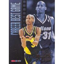 1996-97 Hoops Career Best Game Reggie Miller Pacers