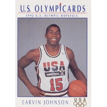 1992 Impel Olympicards Earvin Johnson U S A Team