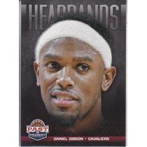 2012-13 Panini Past & Present Felt Headbands Daniel Gibson