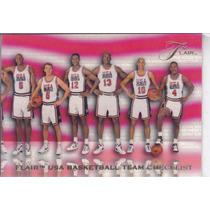 1994 Flair Usa Basketball Team Checklist