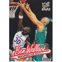 1996-97 Ultra Rookie Ben Wallace Bullets