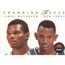 1993-94 Skybox Premium Changing Faces Rc Jamal Mashburn Mavs