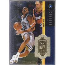 1998-99 Spx Finite Radiance Hubert Davis /5000 Mavs