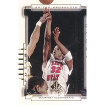 2000 Sp Top Prospects Future Glory Courtney Alexander Mavs
