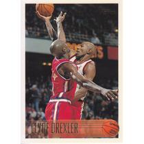 1996-97 Topps Clyde Drexler Rockets
