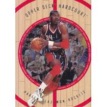 1998 Upper Deck Hardcourt Hakeem Olajuwon Rockets