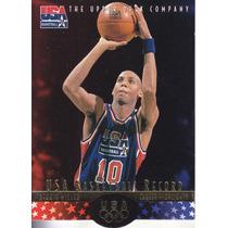 1996 Upper Deck Usa Basketball Record Reggie Miller Pacers
