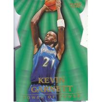 1997-98 Fleer Towers Of Power Kevin Garnett Twolves