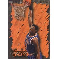 1996-97 Fleer Hardwood Leader Patrick Ewing Knicks