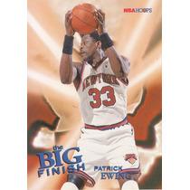 1996-97 Hoops Big Finish Patrick Ewing Knicks