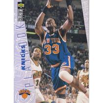 1996-97 Choice Playbook Patrick Ewing Knicks