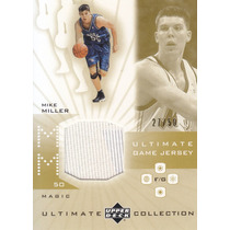 2001-02 Ultimate Game Jersey Gold Mike Miller Magic /50