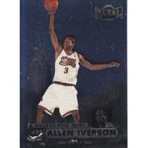 1997-98 Metal Universe Championship Allen Iverson Sixers