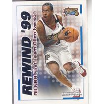 1999-00 Skybox Impact Rewind 99 Allen Iverson Sixers