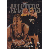 1997-98 Topps Finest Bronze Masters Allen Iverson Sixers