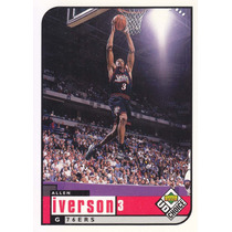 1998-99 Ud Choice Allen Iverson G Sixers