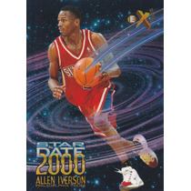 1996-97 Ex2000 Star Date Allen Iverson Sixers