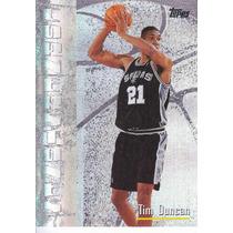 1998-99 Topps Cornerstones Tim Duncan Spurs