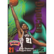 1997-98 Skybox Zforce Rookie Tim Duncan Spurs