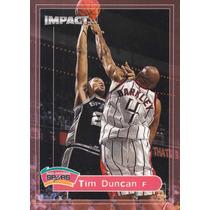 1999-00 Skybox Impact Tim Duncan Spurs