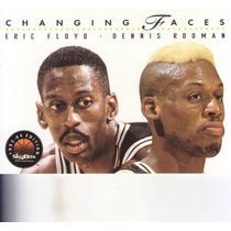 1993-94 Skybox Premium Changing Faces Dennis Rodman Spurs