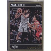 2014-15 Hoops Gold Tim Duncan Spurs