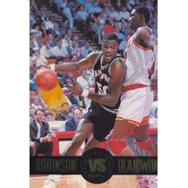 1993-94 Skybox Premium Showdown David Robinson Olajuwon