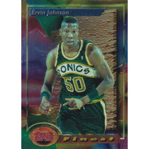 1993-94 Topps Finest Ervin Johnson Sonics